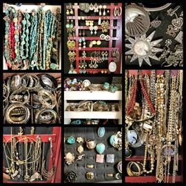 We have an entire room FULL of JEWELRY (More info and pics on this the day before the sale opens)