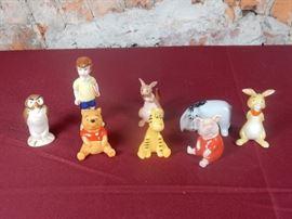 Winnie the Pooh figurines Beswick