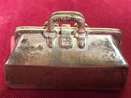 Tiffany & Co. Sterling Vintage Charm Bag