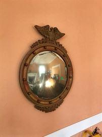 Americana - Federal Style Convex Mirror
