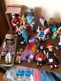Vintage Asian collectible dolls