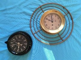 NAVY & BRASS SHIPS CLOCKS