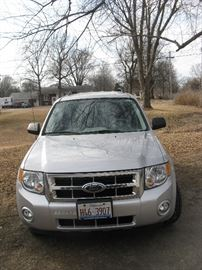 2008 FORD ESCAPE XLT - 46,743 MILES, 4WD, CLEAN, LOW MILES, NO WRECKS, ONE OWNER