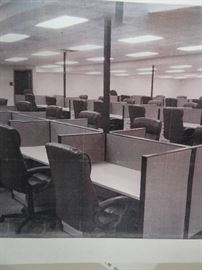 Large Lot Of Office Workstations (Lot Of 45)
