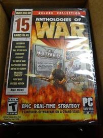 Anthologies Of War / PC DVD-Rom Game (Lot of 21)