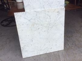 Pieces of CARRERA marble
