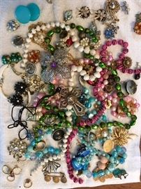 Lots of Jewelry - Vintage and Trendy including Sterling Silver