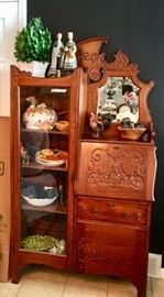 Antique Secretary, Decorative Tableware