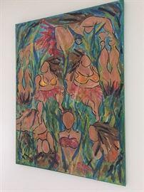 Painting by Nancy D Merrill