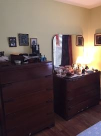 Antique dresser sets