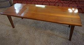 Handmade cedar table coffee table