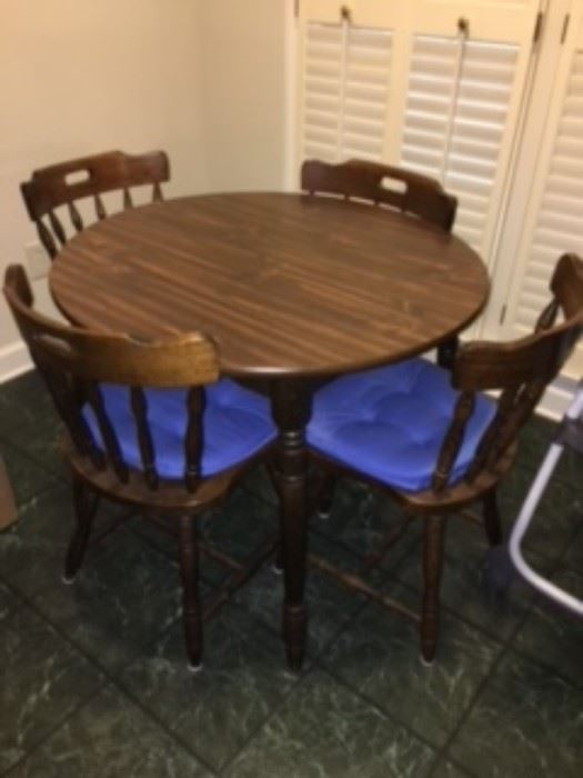 Find computer chair at estate sales privately listed sale dining room set table 6 chairs buffet and chinacomputer desk chair and printer sciox Choice Image