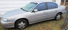 1999 Chevy Malibu with 80k Actual miles. 6 cyl auto loaded. car runs great and is licensed ready to go.