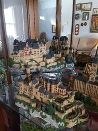 Collection of Danbury Mint castles and statues. Wide assortment in mint condition! Page 2