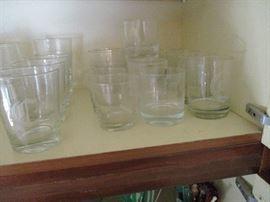 Lots of barware