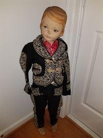 child size antique mannequin