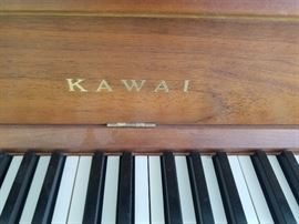 Very nice Kawai piano...would be a wonderful piano for a child to learn on!