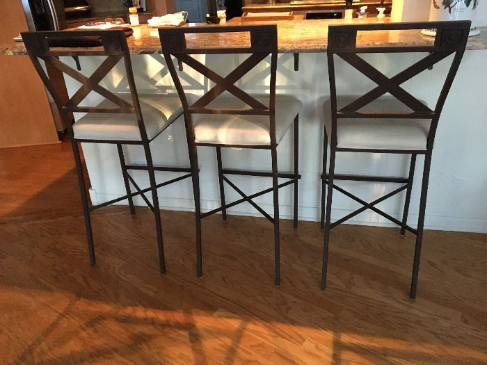 3 Bar stools Buy them now! $150
