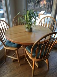 Table with 6 chairs 2 extensions, buy it now $150