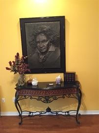 """""""Musicmaster Beethoven Bonded Bronze Sculpture 1984"""" by Bill Mack.  Appraised value of $5,500"""