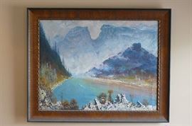 Huge Ural mountain scene (realism) $1875