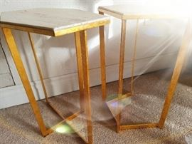 pair of modern occassional tables from Bella Casa