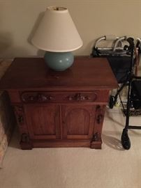 Antique Washstand the walker is not for sale.