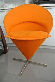 Verner Panton Cone Chair.