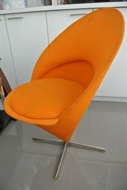 Verner Panton Cone Chair.  One chair.