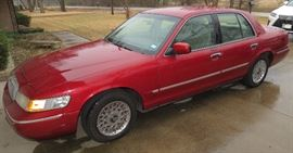 2000 Mercury Grand Marquis with 38k actual miles