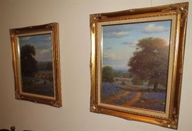 Sweet framed Bluebonnets prints