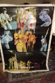 1976 Original Rolling Stones Concert Poster.