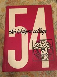 1954 Kilgore College Yearbook