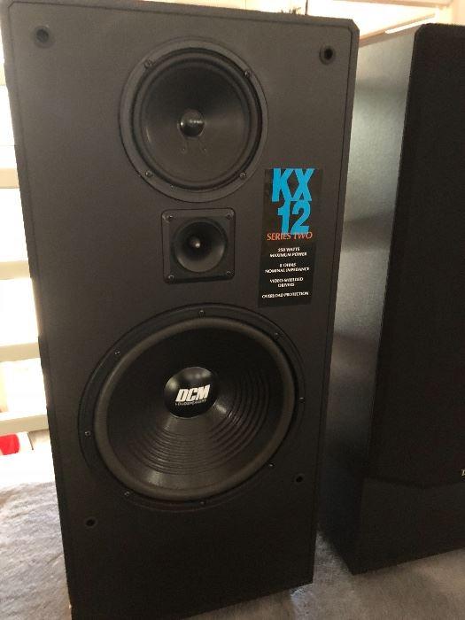 Tempe AZ DCM KX 12 speakers | Audiokarma Home Audio Stereo