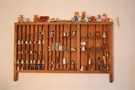 Printer's Drawer with Miniatures