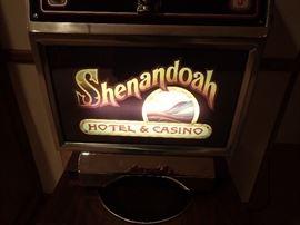SHENANDOAH HOTEL & CASINO SLOT MACHINE