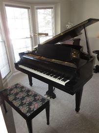 "5' 8"" KNABE PARLOR GRAND PIANO"