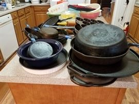 Cast iron, USA, Wagner, and Griswold