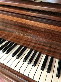 Antique Hallet, Davis & Co Grand Piano Mahogany - Available for Pre-sell -  Call Freda 404-660-7029