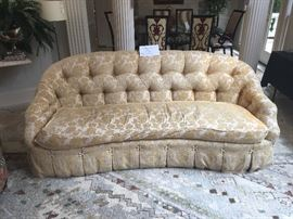 Carlton House sofa ($495); 12' by 9' area rug ($280)