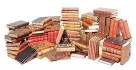11. Assorted Leather Bound Antique Books