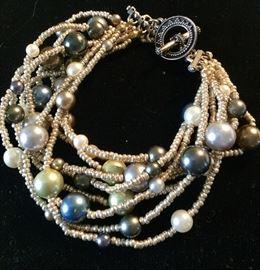 Custom designed, costume jewelry