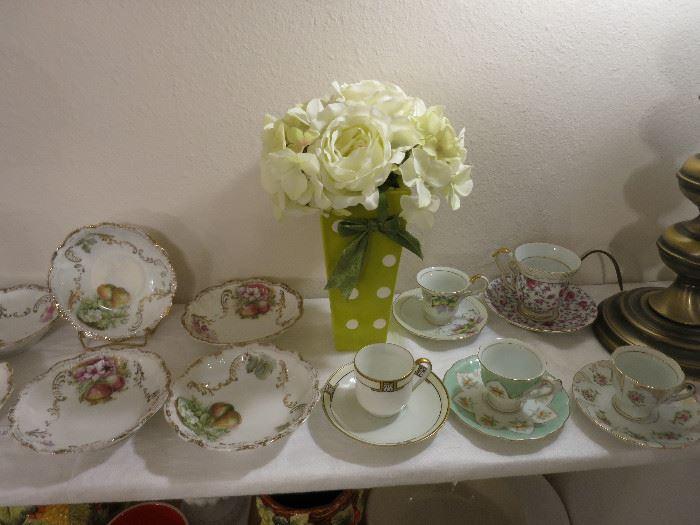 Bavaria China and Tea Cups