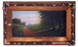 Harvey Joiner (American, 1852-1932) Oil On Panel