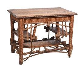 8. Reverend Ben Davis Library Table