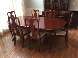 #1	table	Wood Table w/6 chairs  43x65-80x30	 $275.00