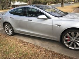2016 Tesla P90D S Model 1 owner 13k Awesome , clean car , low mileage