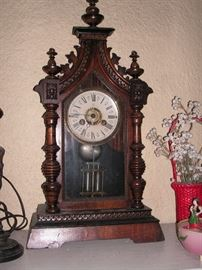 Eastlake mantle clock