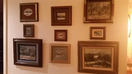 Landscape paintings by local Central Texas Artist's Ron Vaughan.