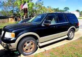 2005 FORD SUV Eddie Bauer Edition. New battery--starts right up and runs smoothly.   Loaded with all extras, ice cold A/C 150,000  miles